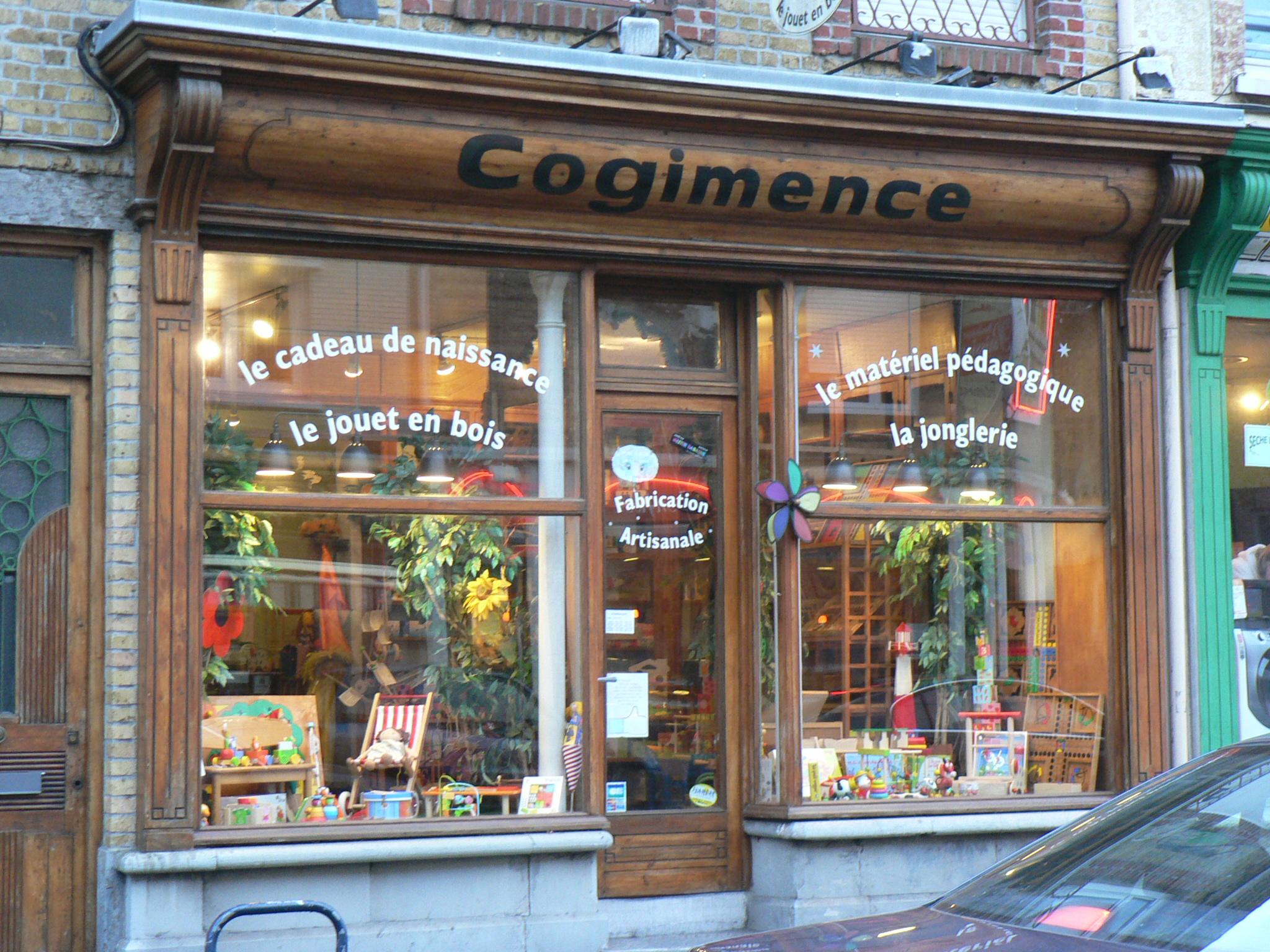 Cogimence, le jouet en bois à Dunkerque, Cogimence, le