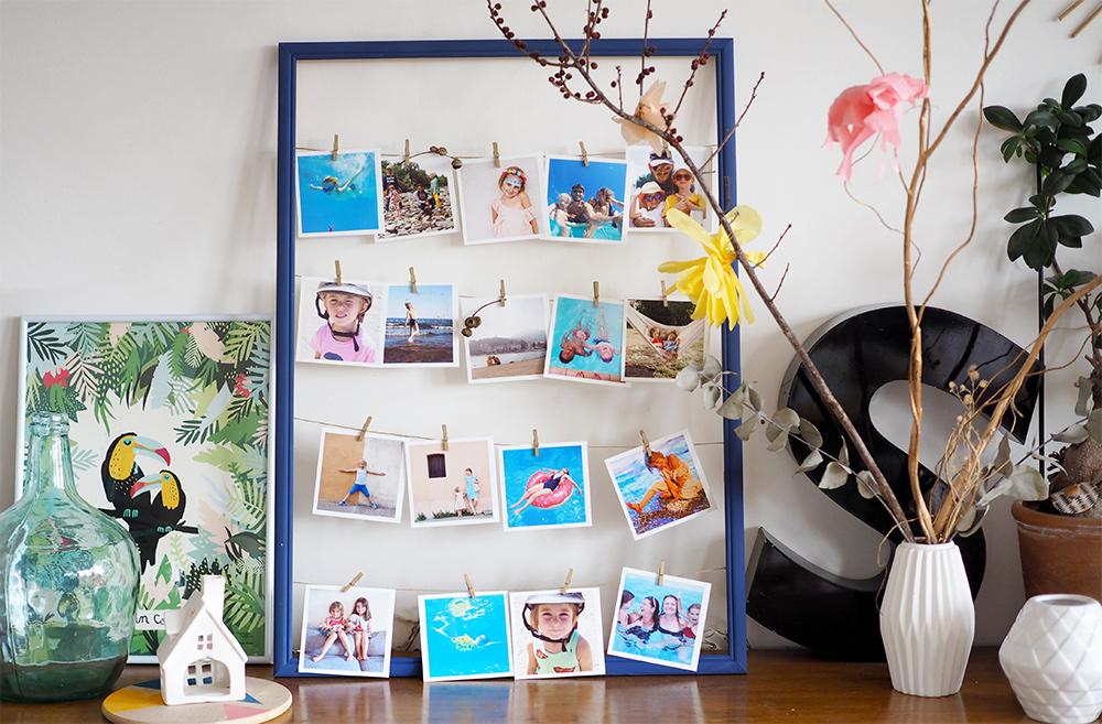 diy une jolie id e pour encadrer vos souvenirs de vacances cr ez avec votre enfant nos diy. Black Bedroom Furniture Sets. Home Design Ideas