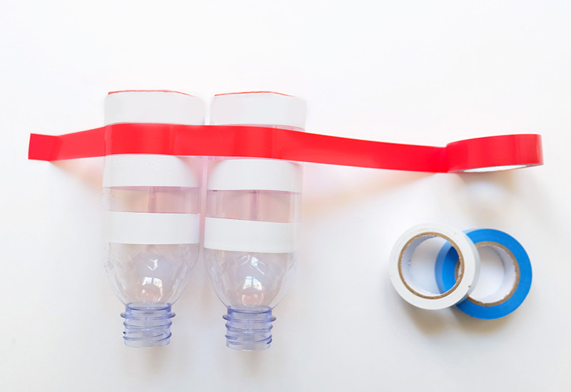 evian bébé - DIY - Des jumelles avec des bouteilles evian