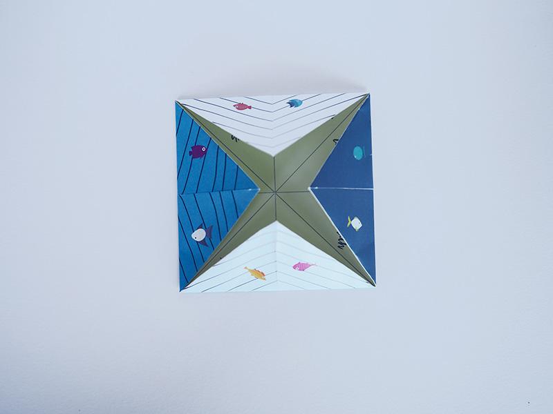 evian bébé - DIY Printable - La cocotte en papier baleine