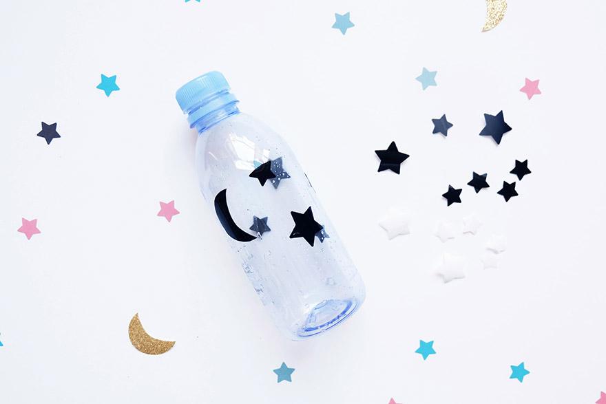 evian bébé - DIY Une veilleuse à partir d'une bouteille evian