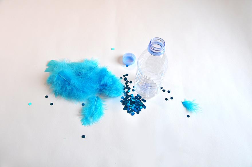 evian bébé - DIY - Des bouteilles sensorielles