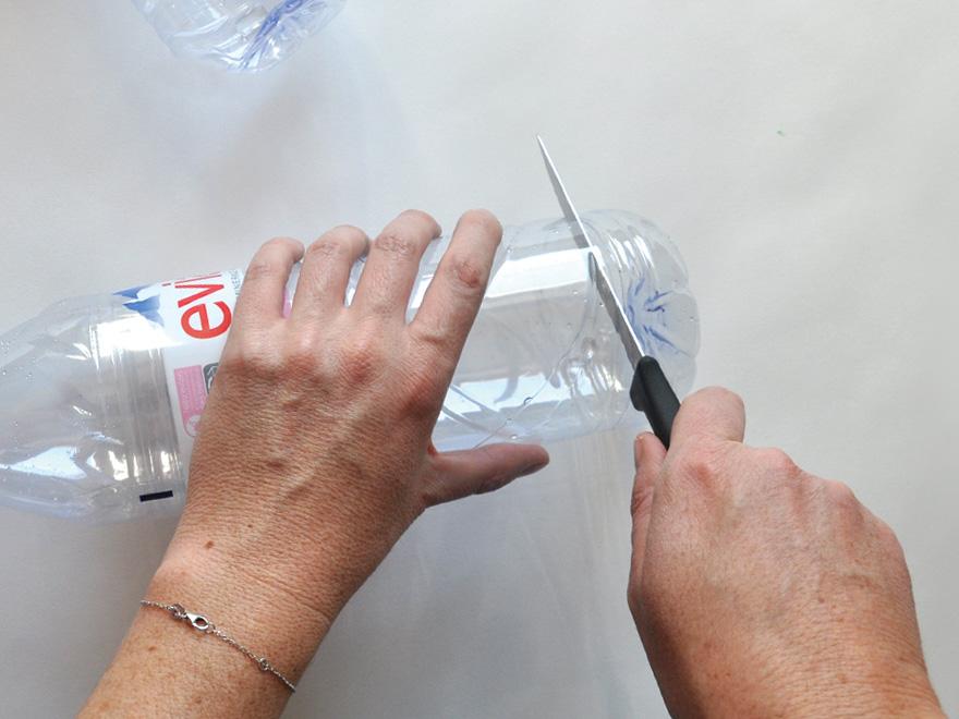 evian bébé - DIY - Une boîte à goûter avec 2 bouteilles evian