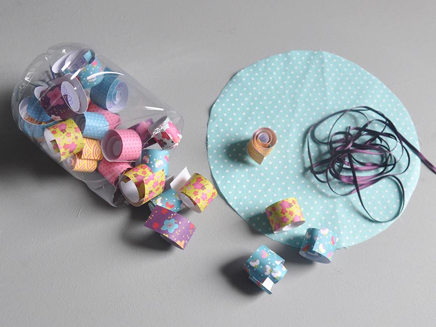 evian bébé - DIY - La boîte à mots doux avec une bouteille evian