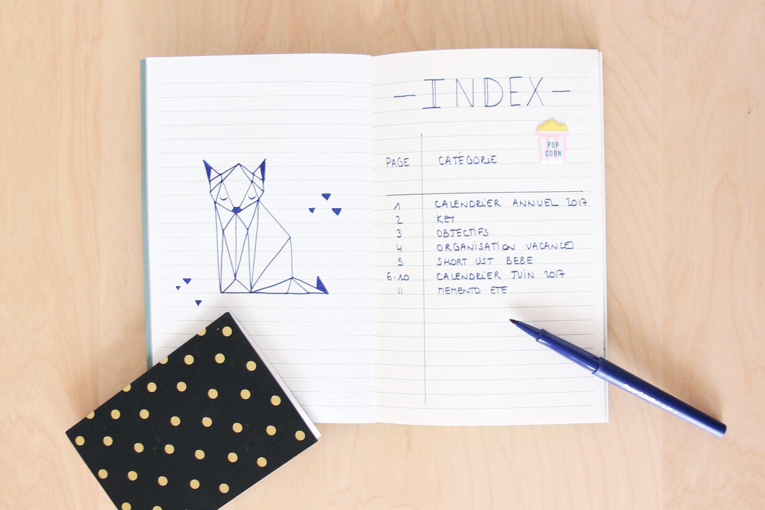 DIY bullet journal 3