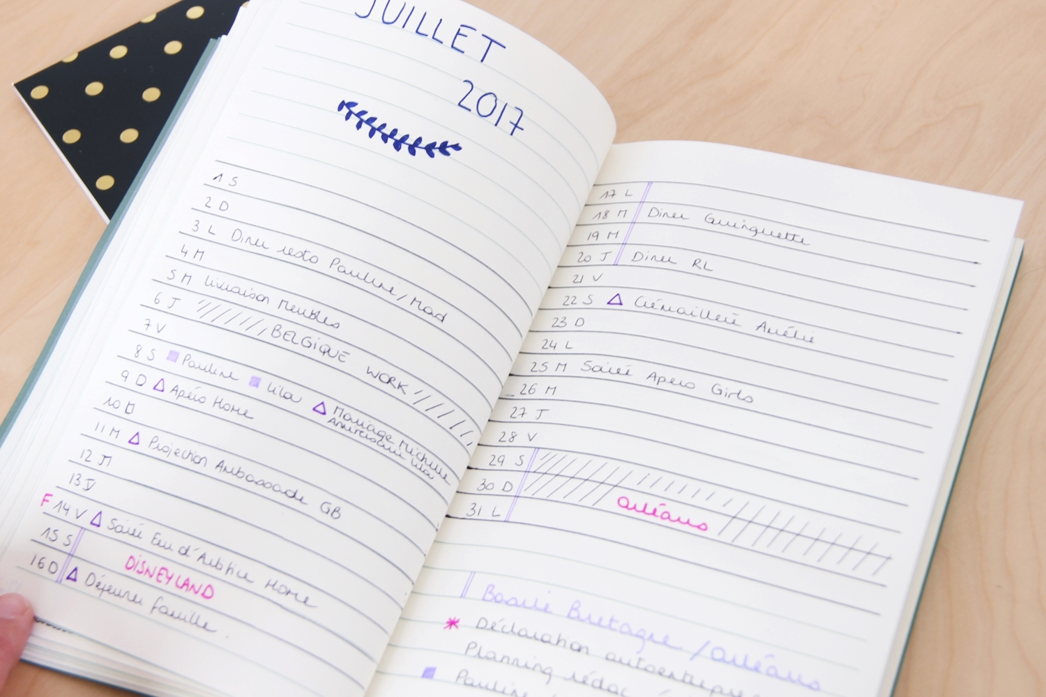 DIY bullet journal 5
