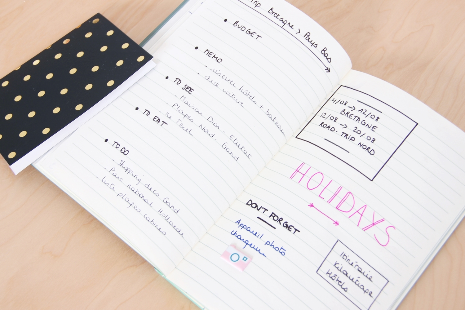DIY bullet journal 9